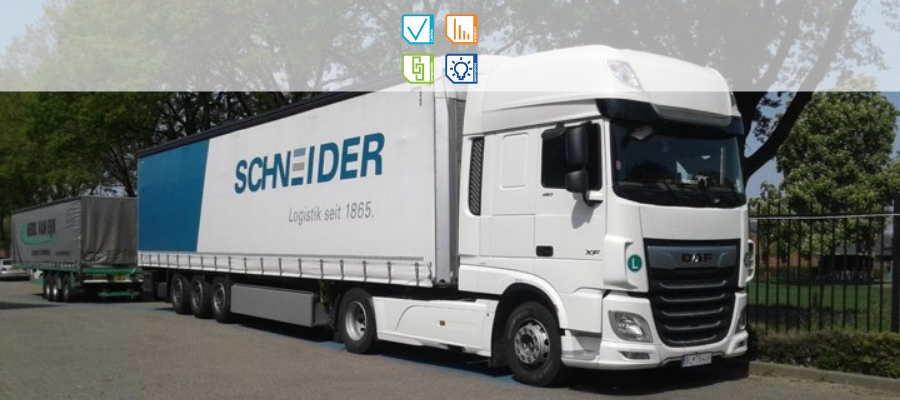 Schneider Logistics Truck